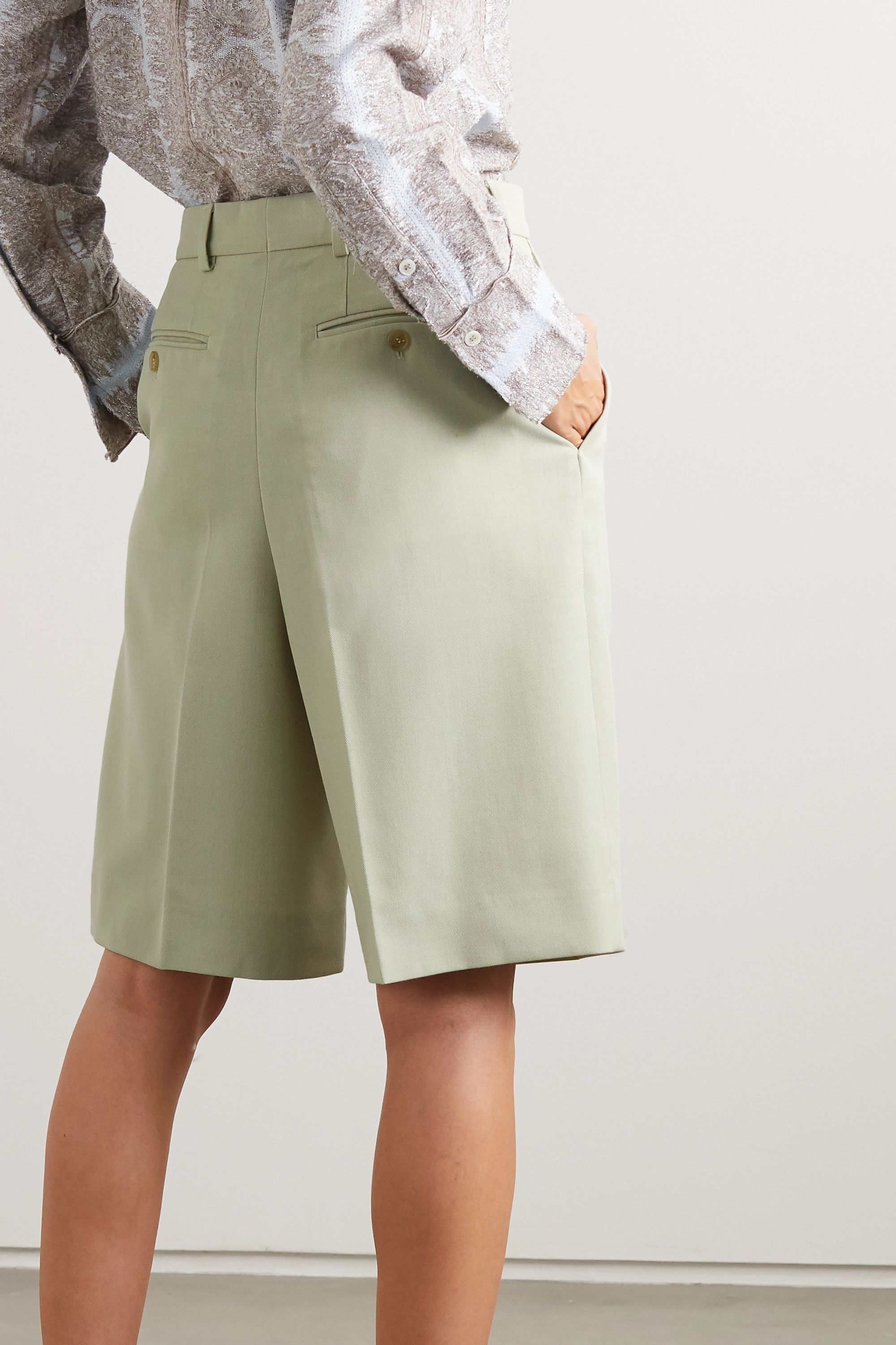 Acne Studios Shorts aus Canvas
