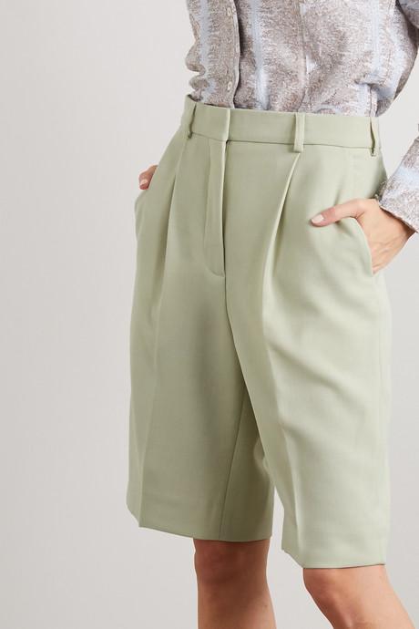 Ruthie canvas shorts