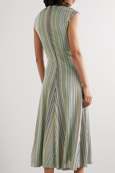 Beaufille | Chagall twist front striped stretch jacquard