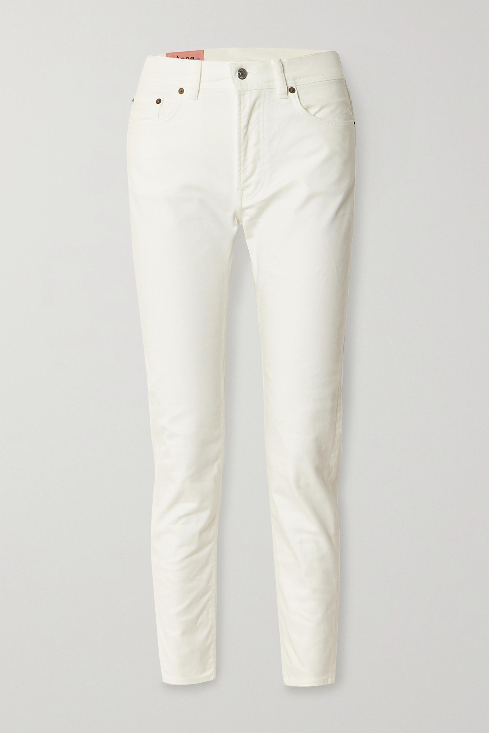 Acne Studios 高腰窄腿牛仔裤