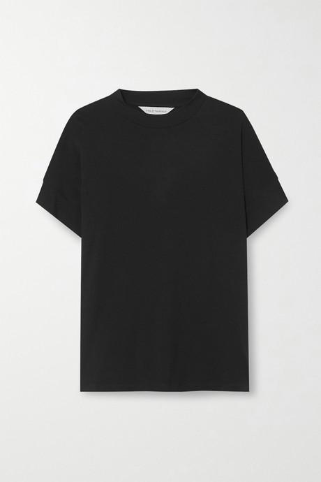 Black Merino wool T-shirt   King & Tuckfield sagPhL
