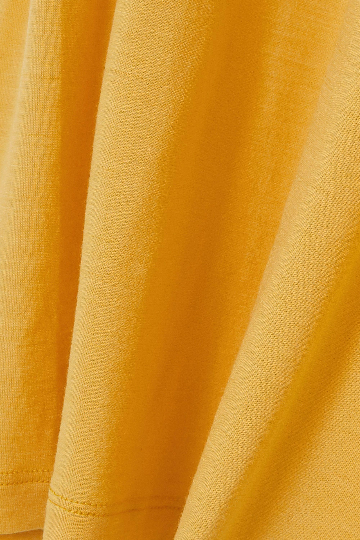 Yellow Merino Wool T-shirt   King & Tuckfield