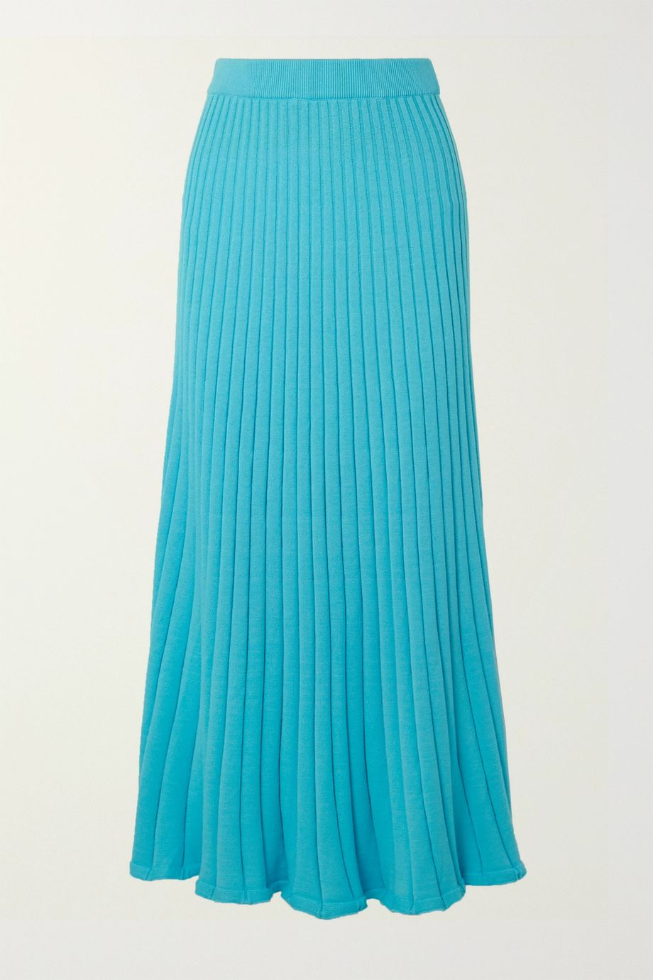 ANNA QUAN Lulu ribbed cotton maxi skirt