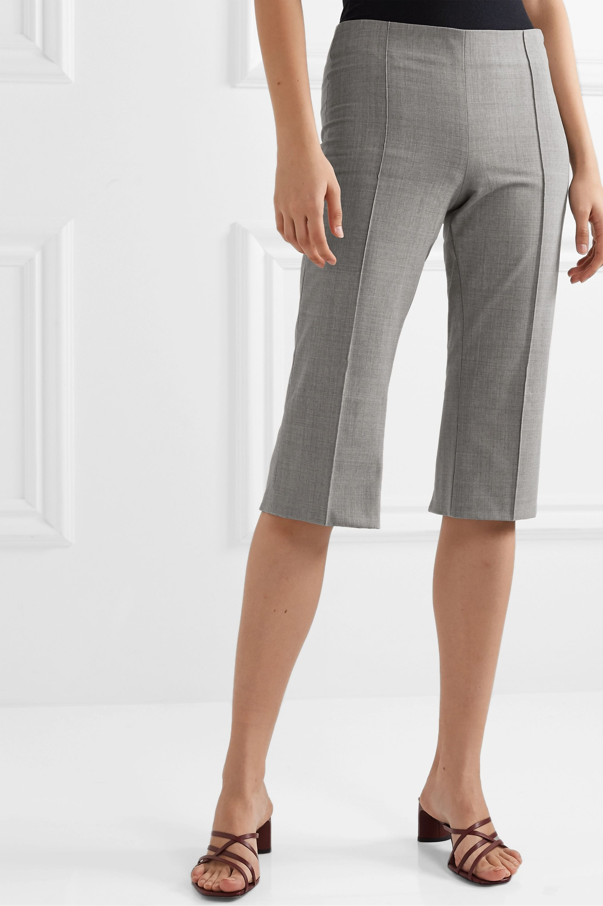 Maggie Marilyn + NET SUSTAIN One Step Ahead cropped woven straight-leg pants
