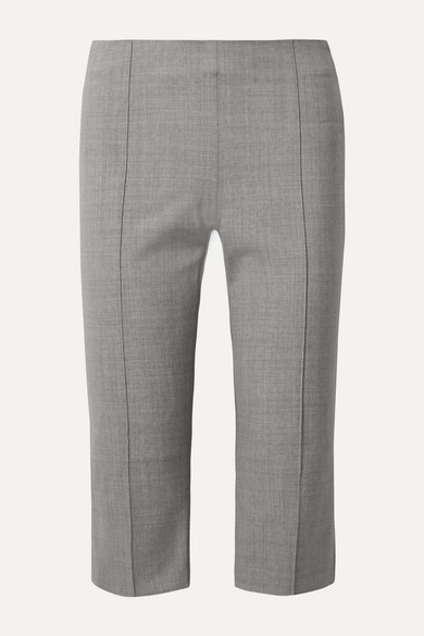 Maggie Marilyn Pants ONE STEP AHEAD CROPPED WOVEN STRAIGHT-LEG PANTS