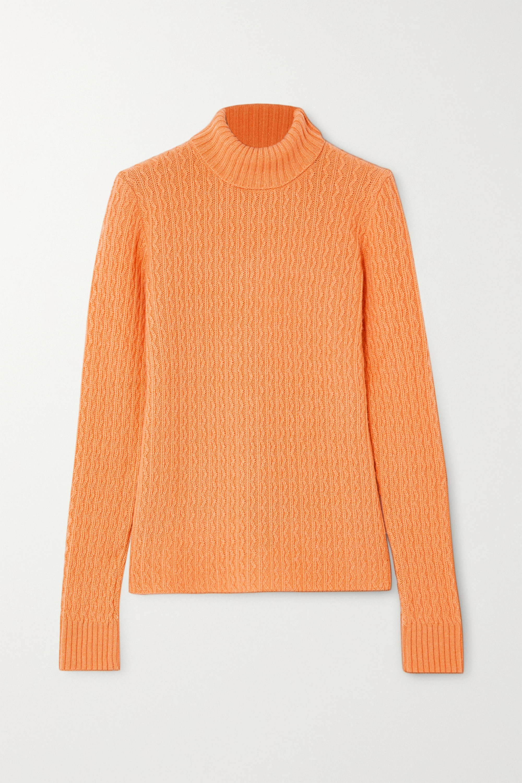 GAUGE81 Cairns cable-knit cashmere turtleneck sweater