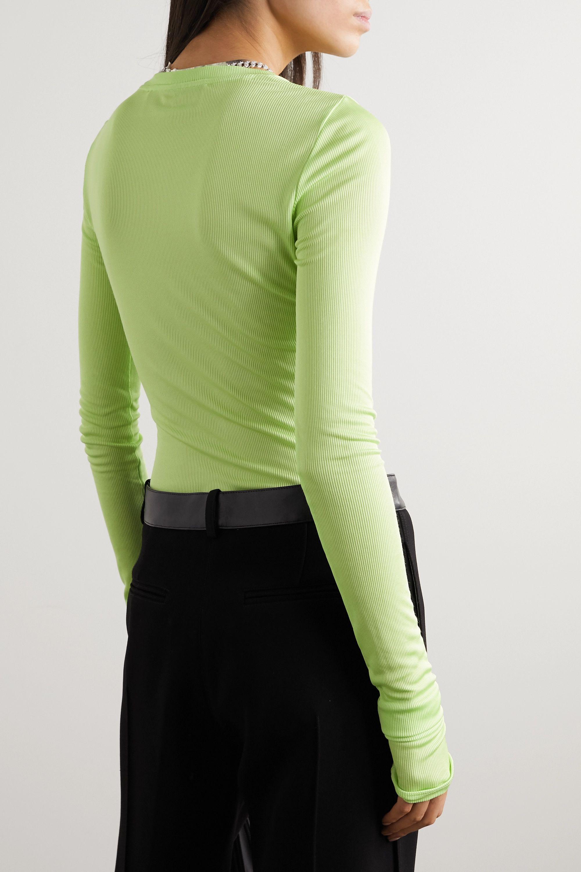 GAUGE81 Paris ribbed stretch-jersey top