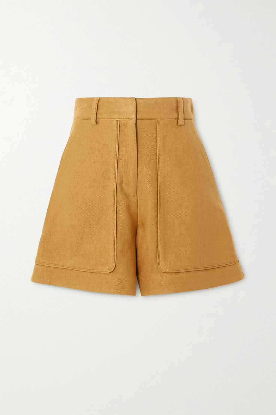 Vanessa Bruno Iala linen and cotton-blend shorts