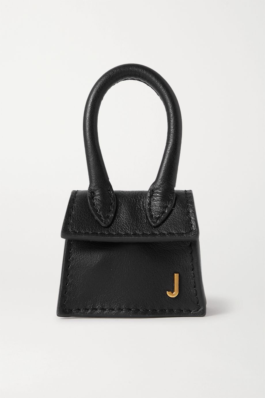 Jacquemus Le Chiquito micro textured-leather tote