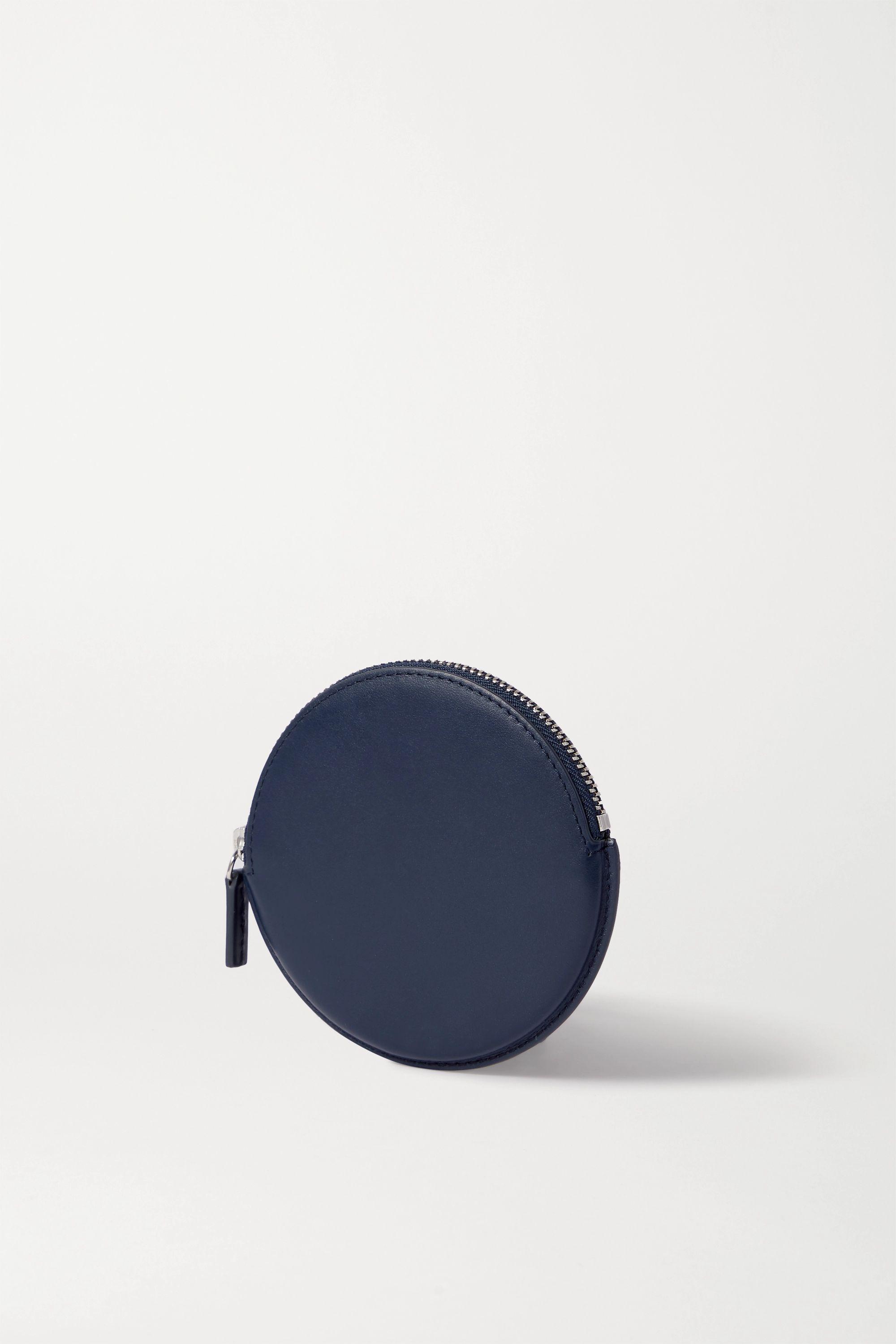 Jacquemus Le Pitchou mini textured-leather pouch