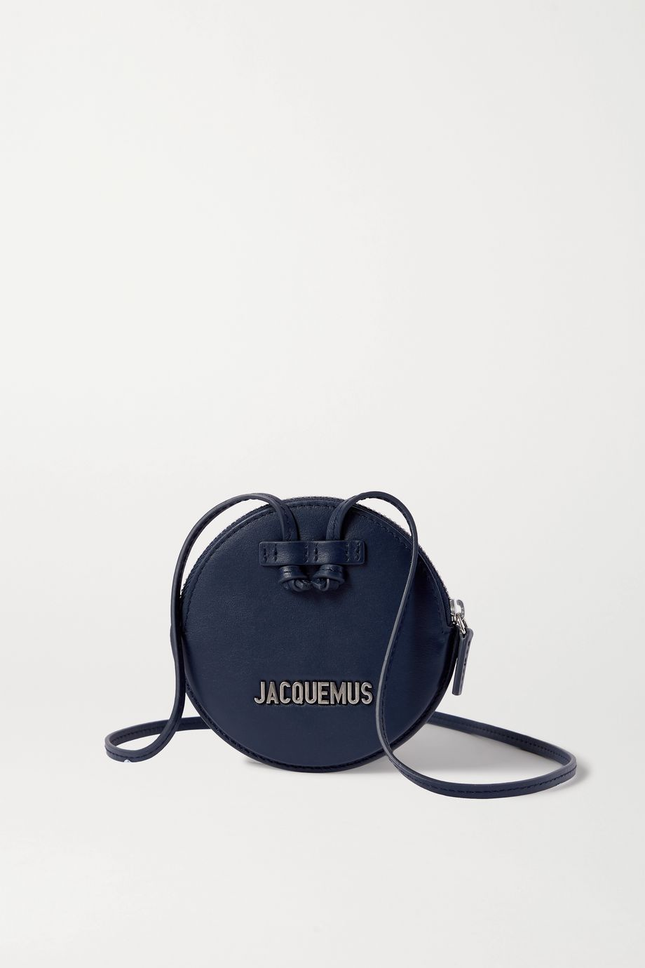 Jacquemus Le Pitchou mini textured-leather pouch