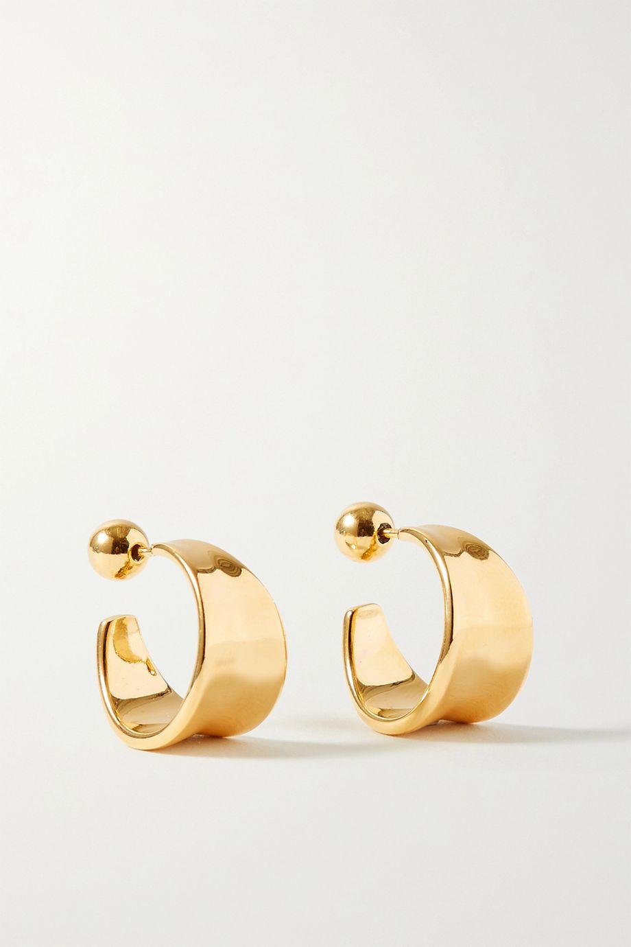 Sophie Buhai + NET SUSTAIN gold vermeil earrings