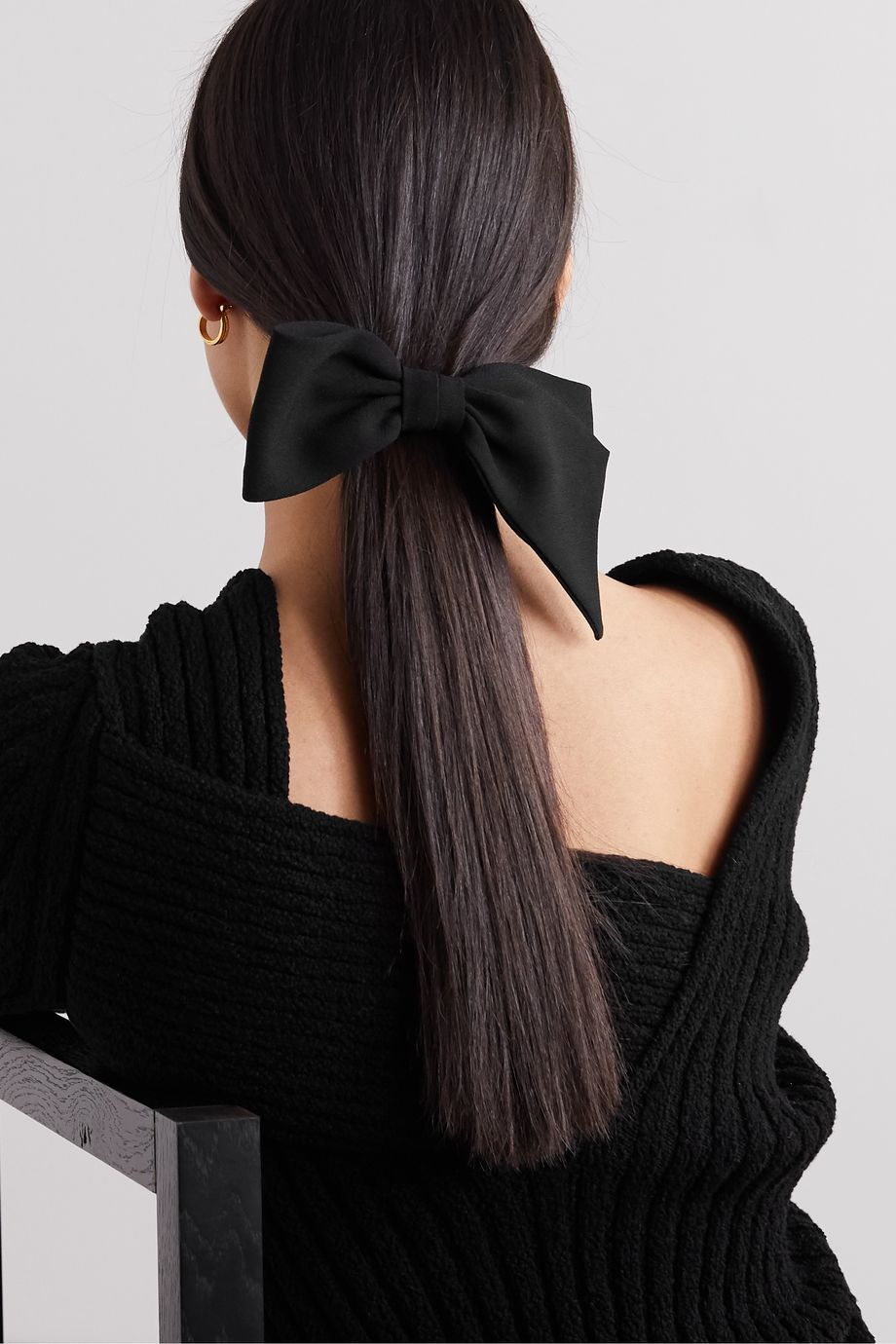 Sophie Buhai + NET SUSTAIN silk hair clip