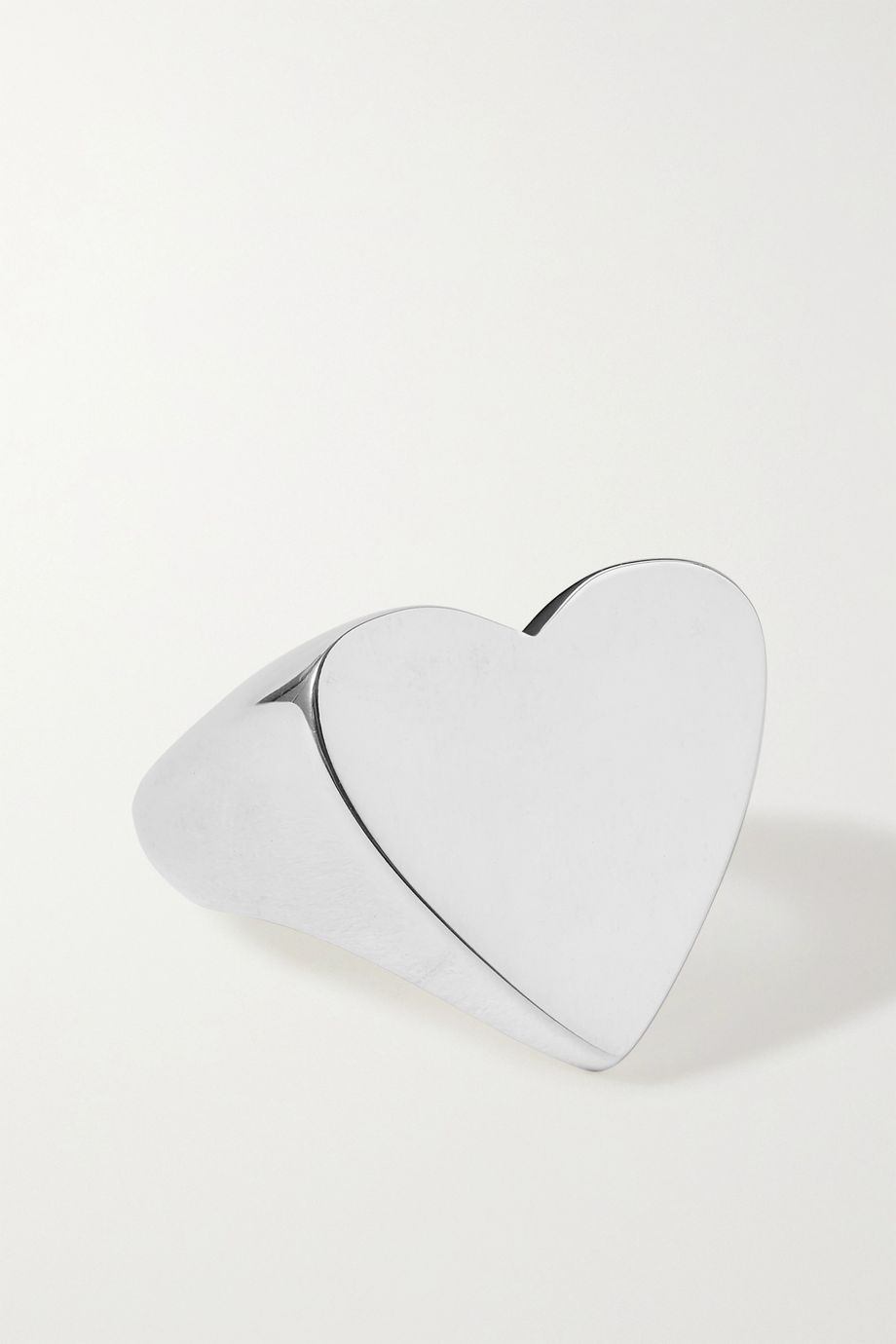 Sophie Buhai + NET SUSTAIN Heart silver ring