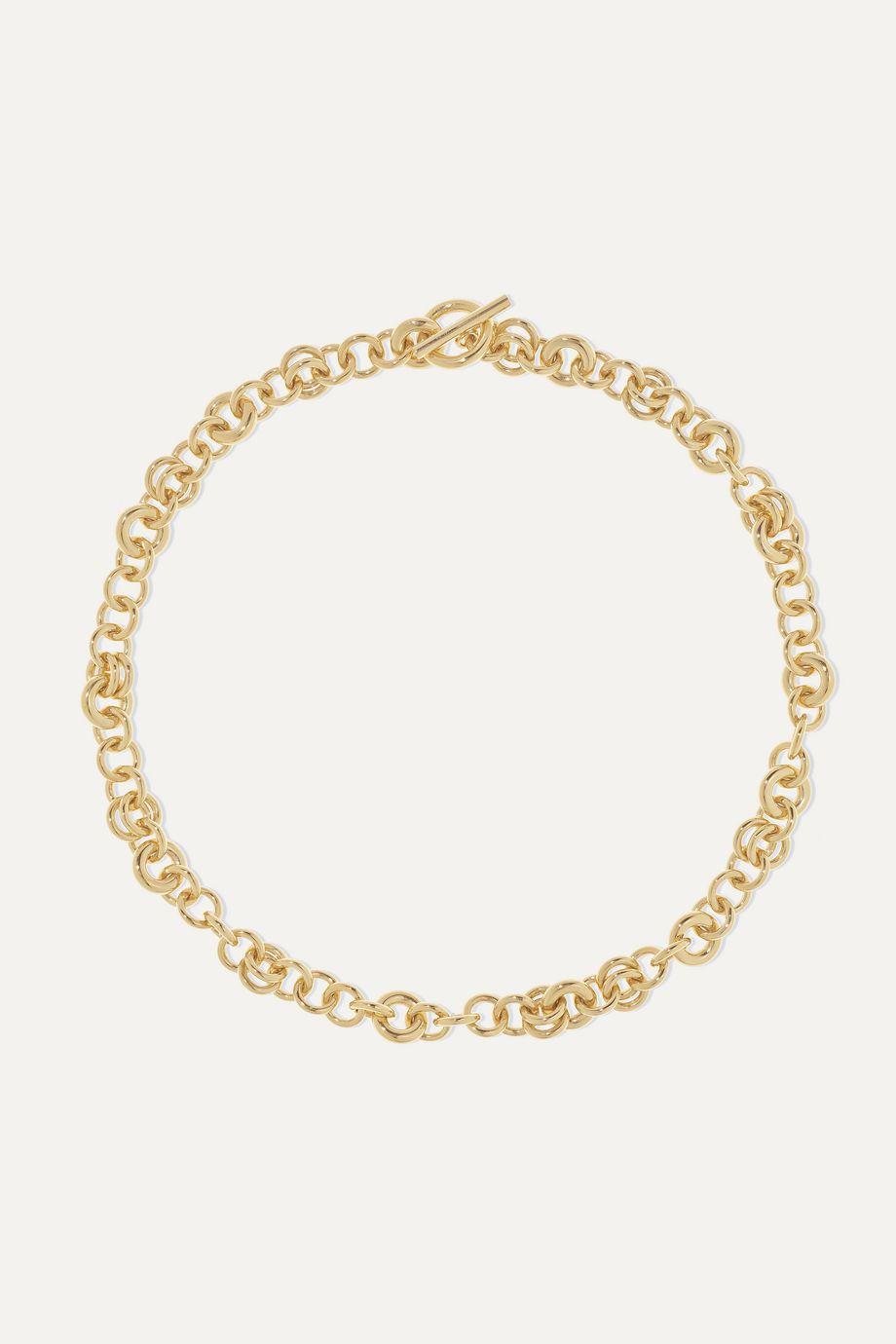 Spinelli Kilcollin Crux 18-karat gold necklace