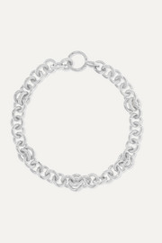 Serpens sterling silver bracelet
