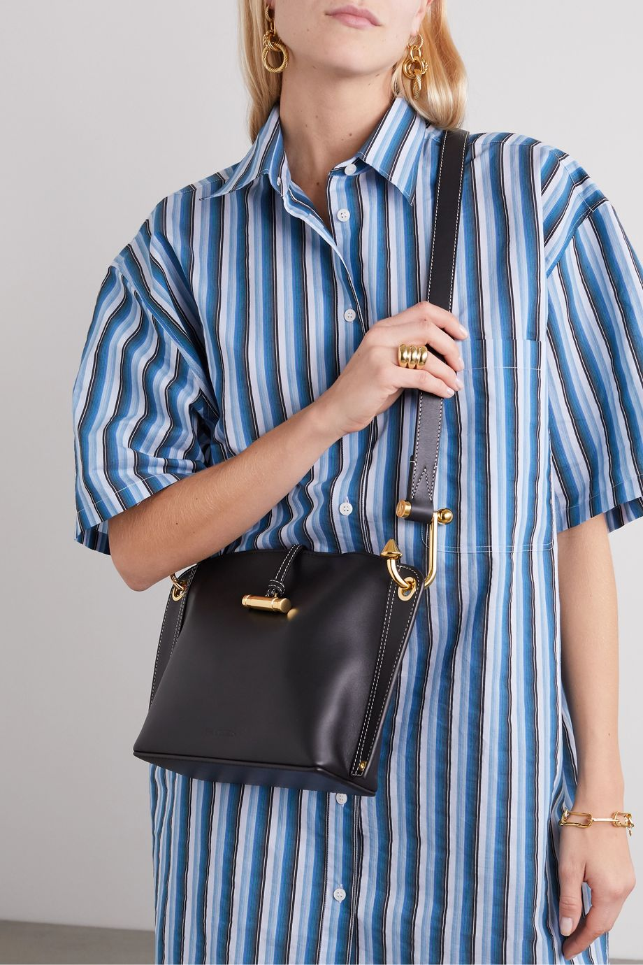 JW Anderson Hoist small leather shoulder bag