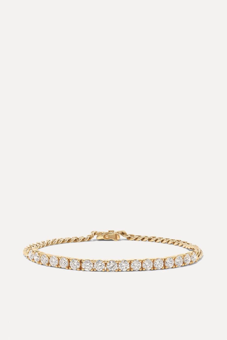 Anita Ko Bracelet en or 18 carats et diamants