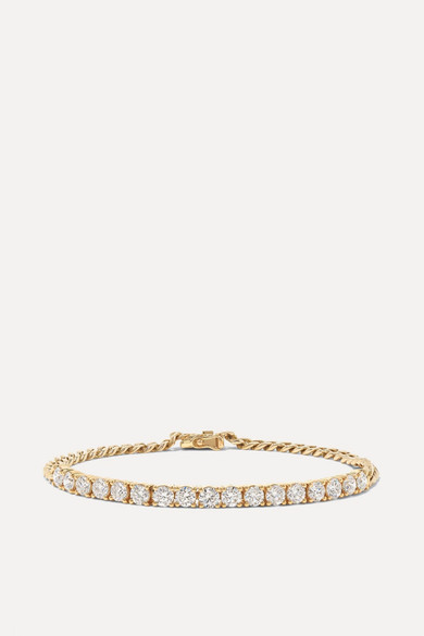 18 Karat Gold Diamond Bracelet by Anita Ko