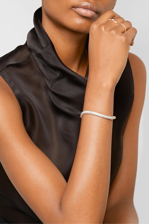 Anita Ko 18-karat gold diamond bangle