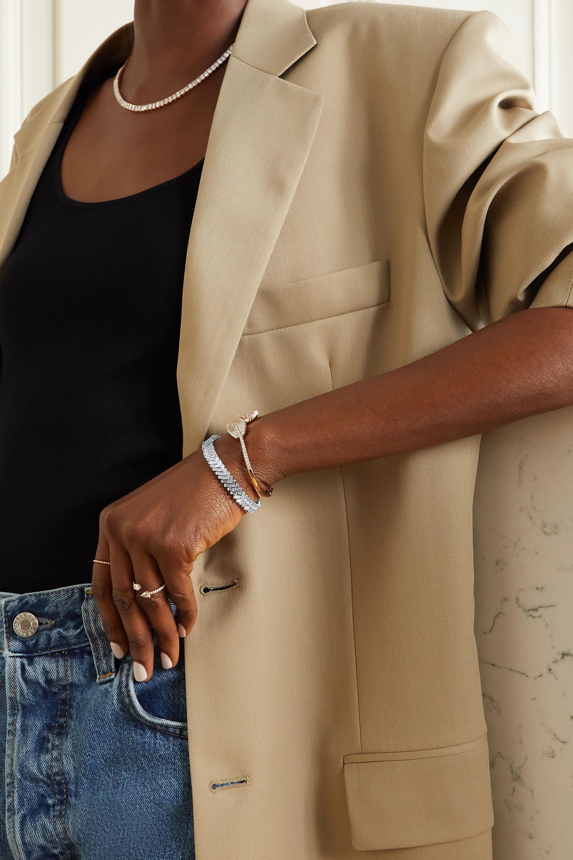 Anita Ko 18-karat white gold diamond bracelet