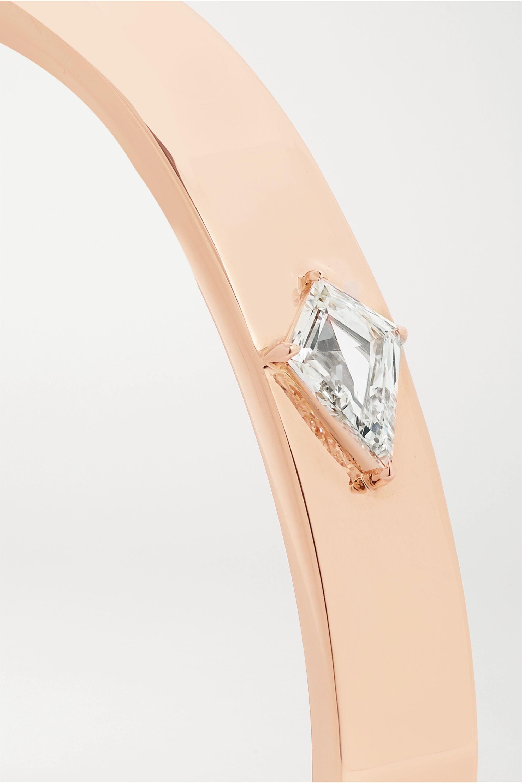 Anita Ko Armreif aus 18 Karat Roségold mit Diamant