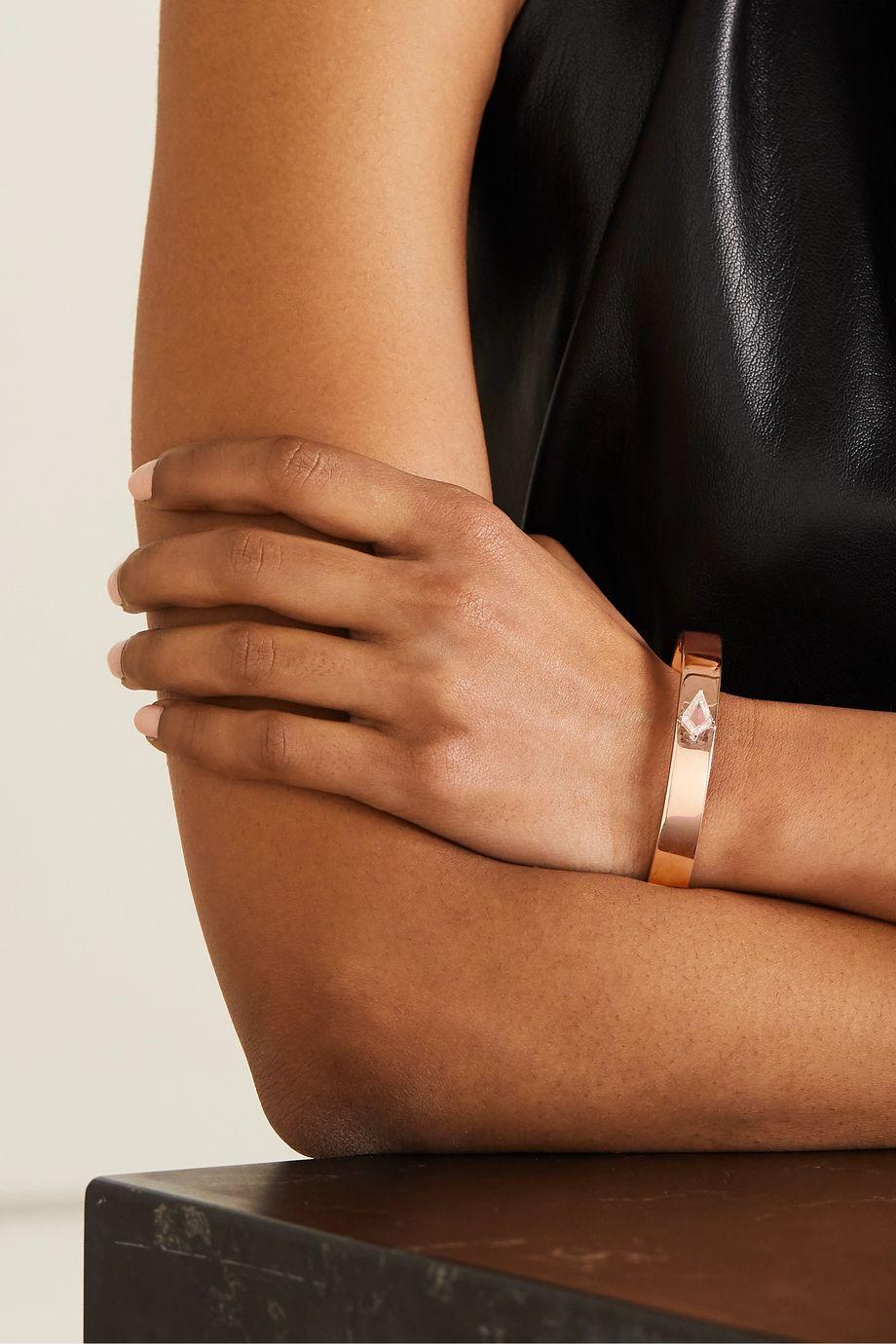 Anita Ko Bracelet en or rose 18carats et diamant