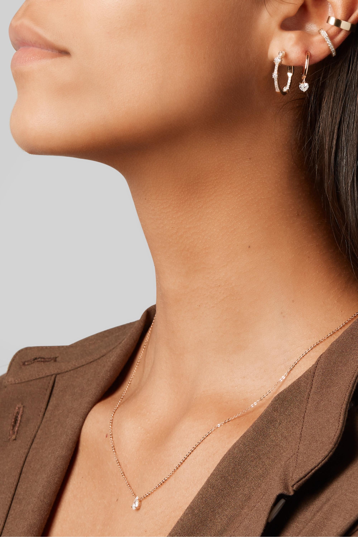 Anita Ko Boucles d'oreilles en or 18 carats et diamants Collins