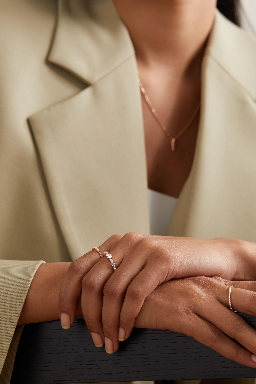 Anita Ko Collins 18-karat rose gold diamond ring