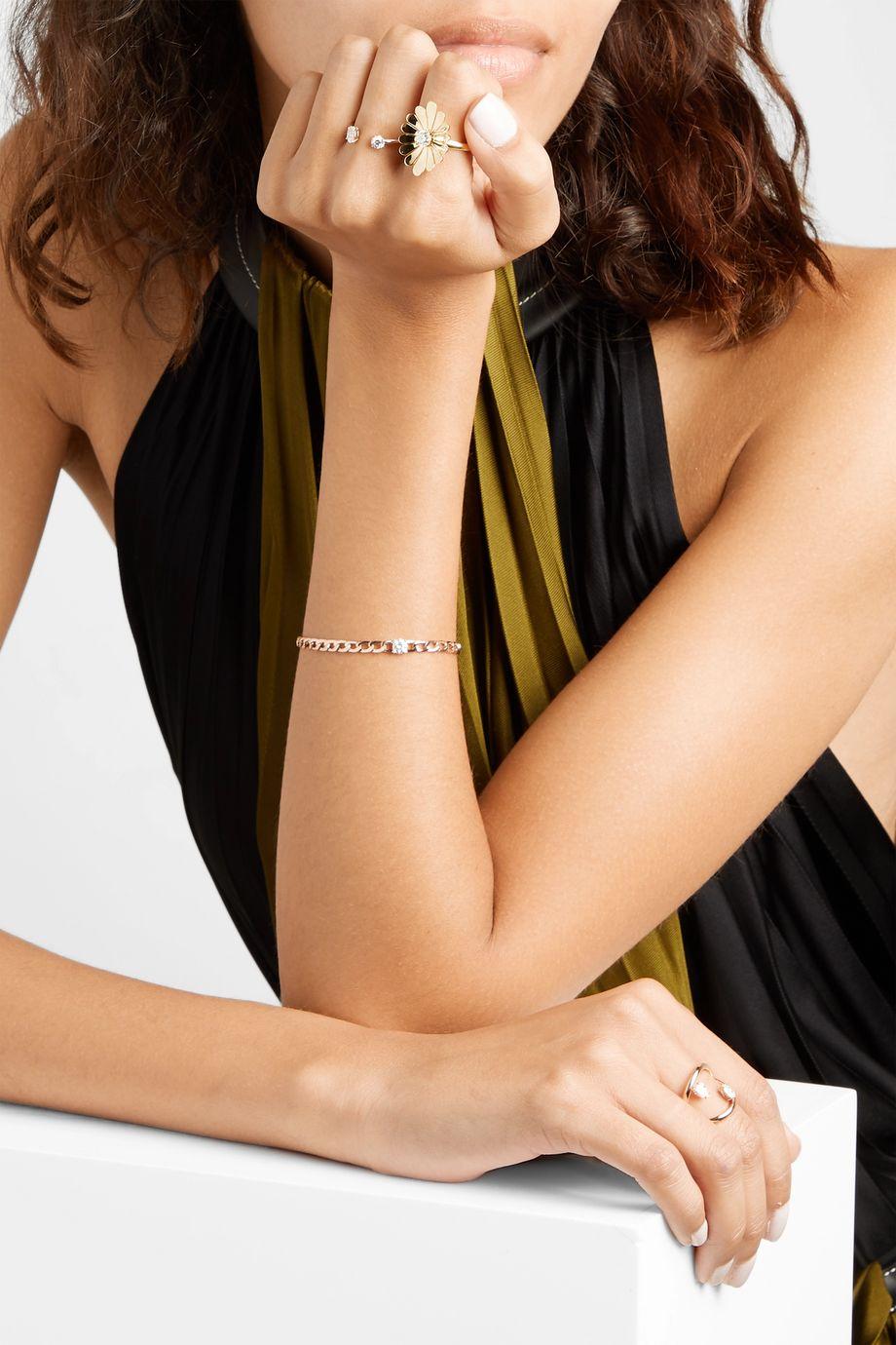 Anita Ko Bague en or 18carats et diamants