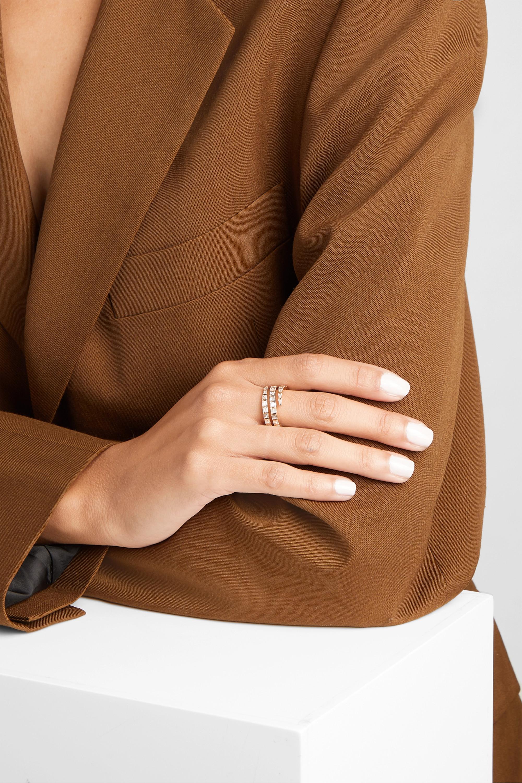 Anita Ko 18-karat gold diamond ring
