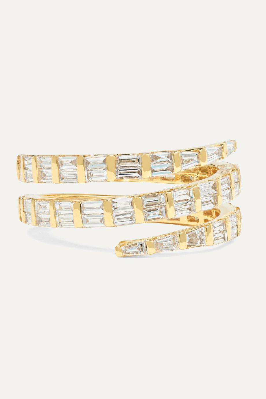 Anita Ko 18K 黄金钻石戒指
