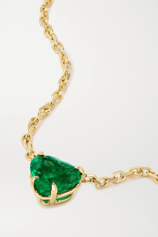Anita Ko Kette aus 18 Karat Gold mit Smaragd