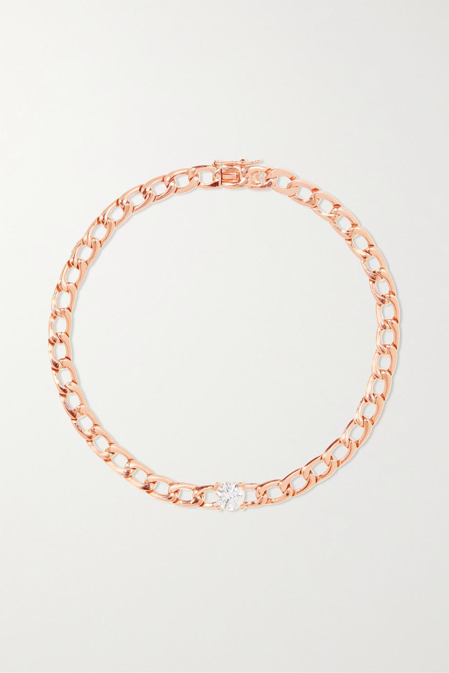Anita Ko Armband aus 18 Karat Roségold mit Diamant