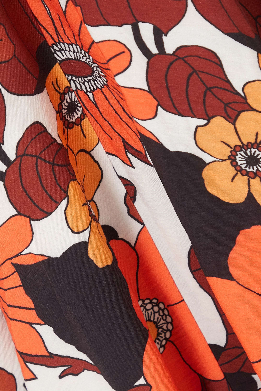 Dodo Bar Or Mor floral-print woven midi dress