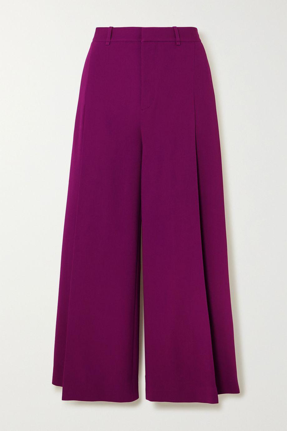 Roland Mouret Liberty stretch-crepe wide-leg pants