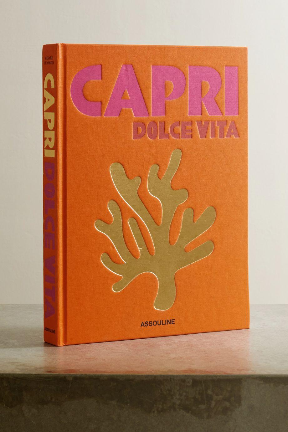 Assouline Livre cartonné Capri Dolce Vita de Cesare Cunaccia