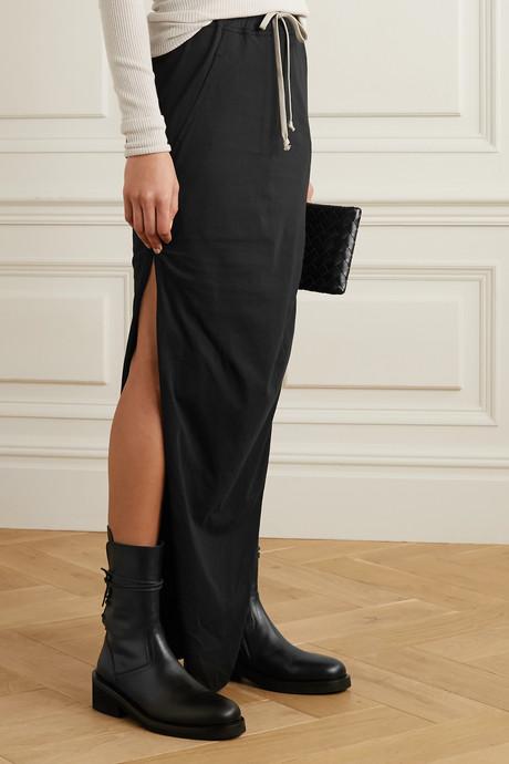 Gonna cotton maxi skirt