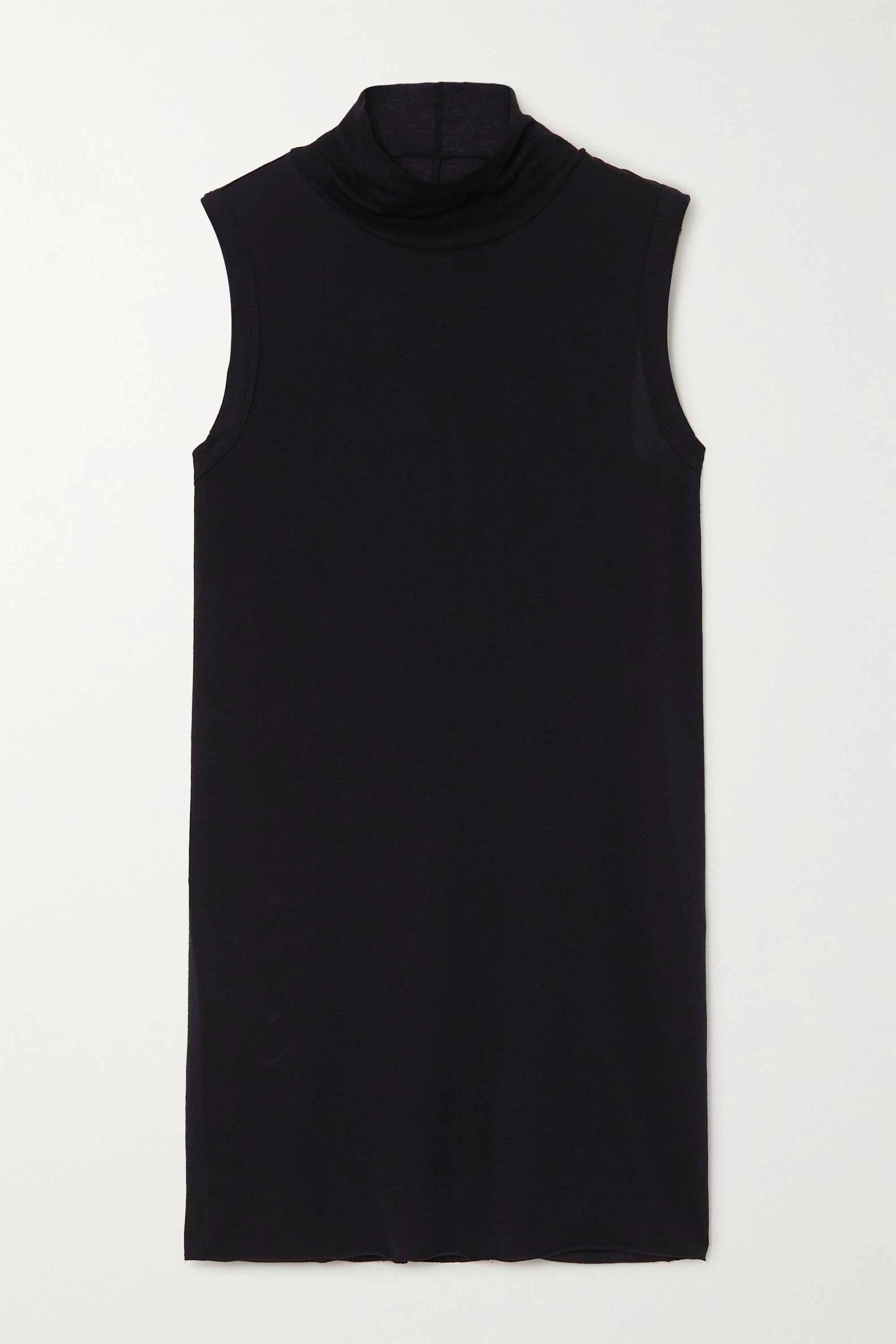Rick Owens Lilies jersey turtleneck top