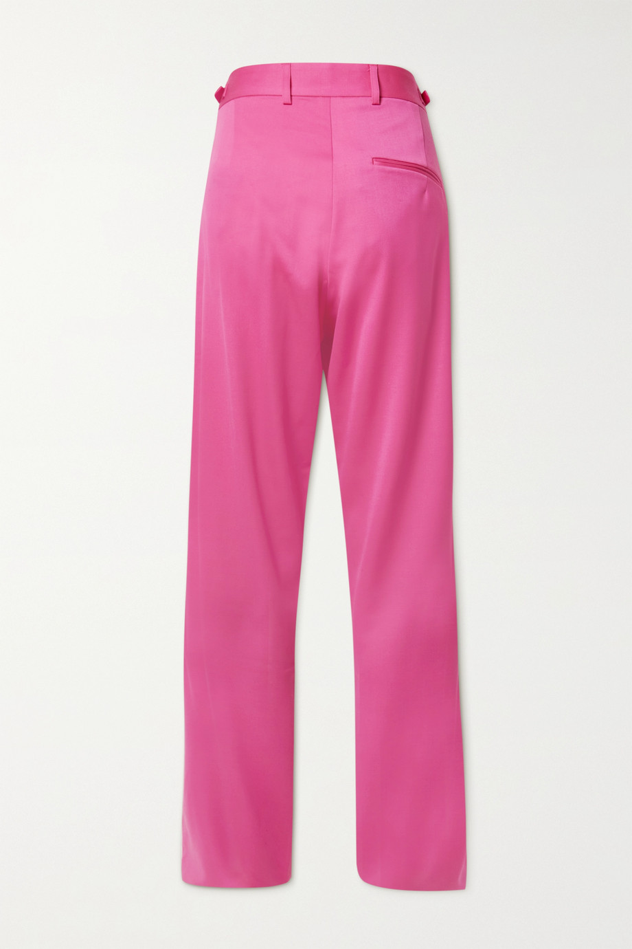 GmbH Tarek pleated wool tapered pants