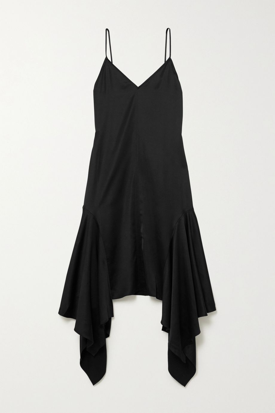 JW Anderson Asymmetric satin dress