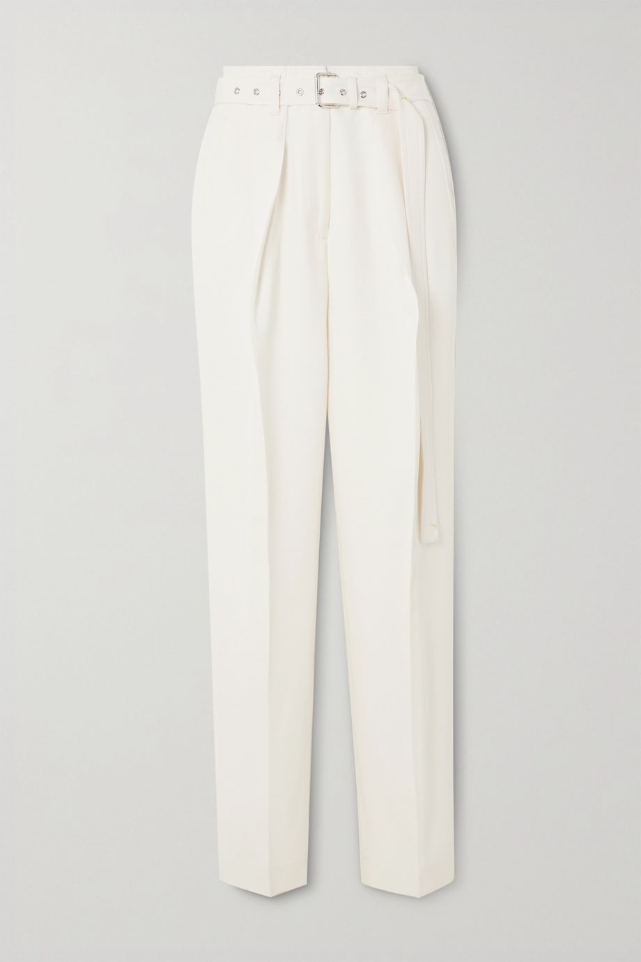 JW Anderson Belted wool tapered pants