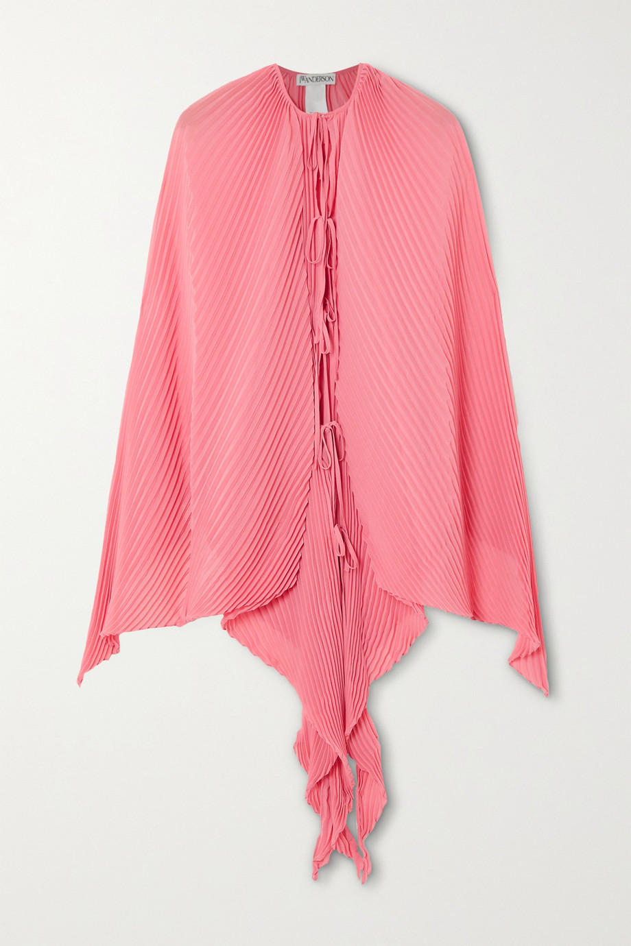 JW Anderson Pleated crepon cape