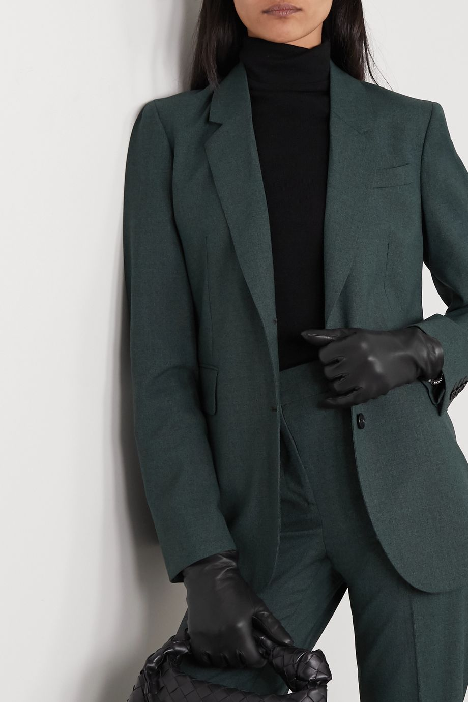 Gabriela Hearst Leather gloves