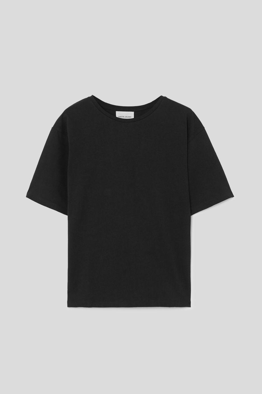 LOULOU STUDIO Lipari oversized cotton-jersey T-shirt