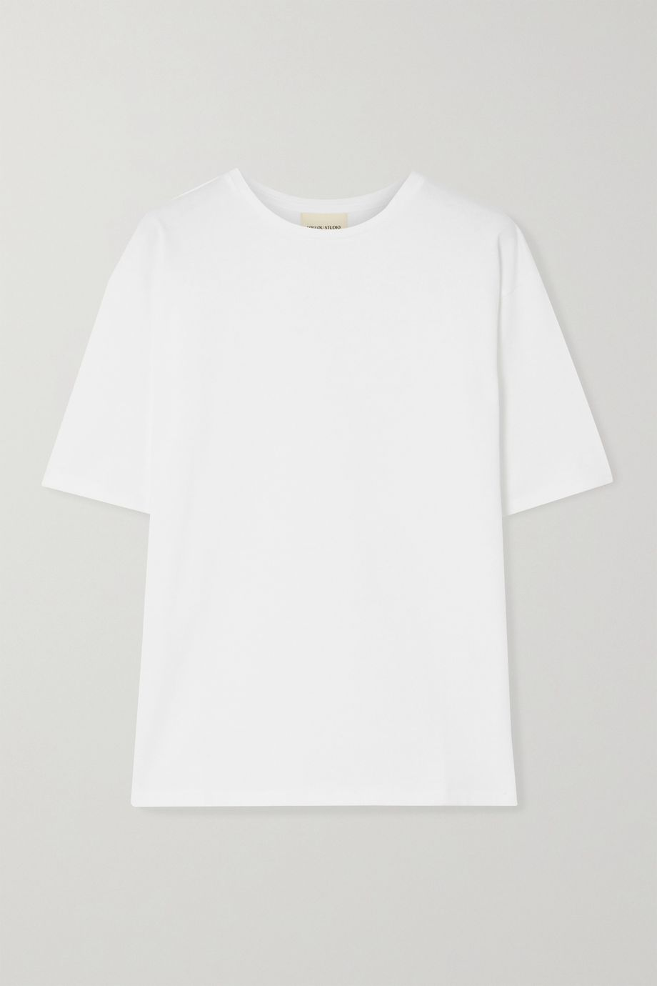 LOULOU STUDIO Lipari cotton-jersey T-shirt