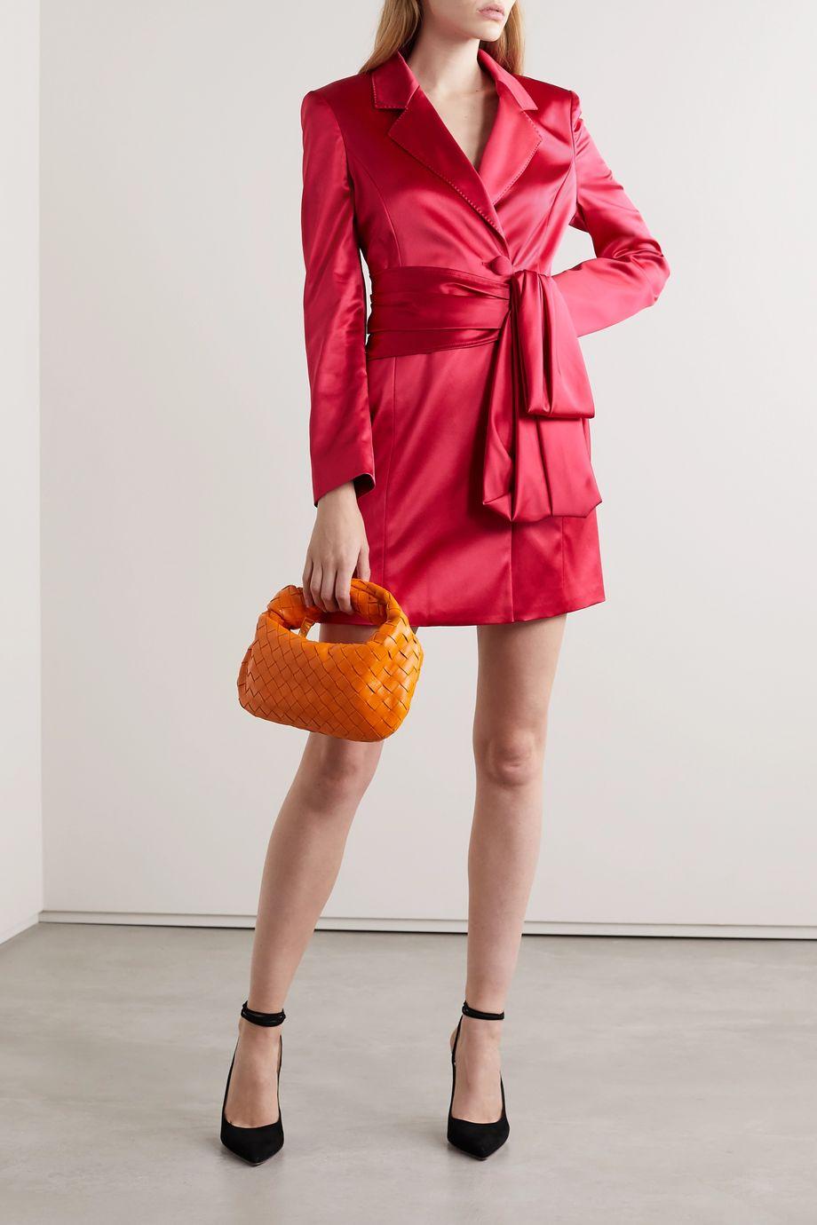 Peter Pilotto Satin mini dress