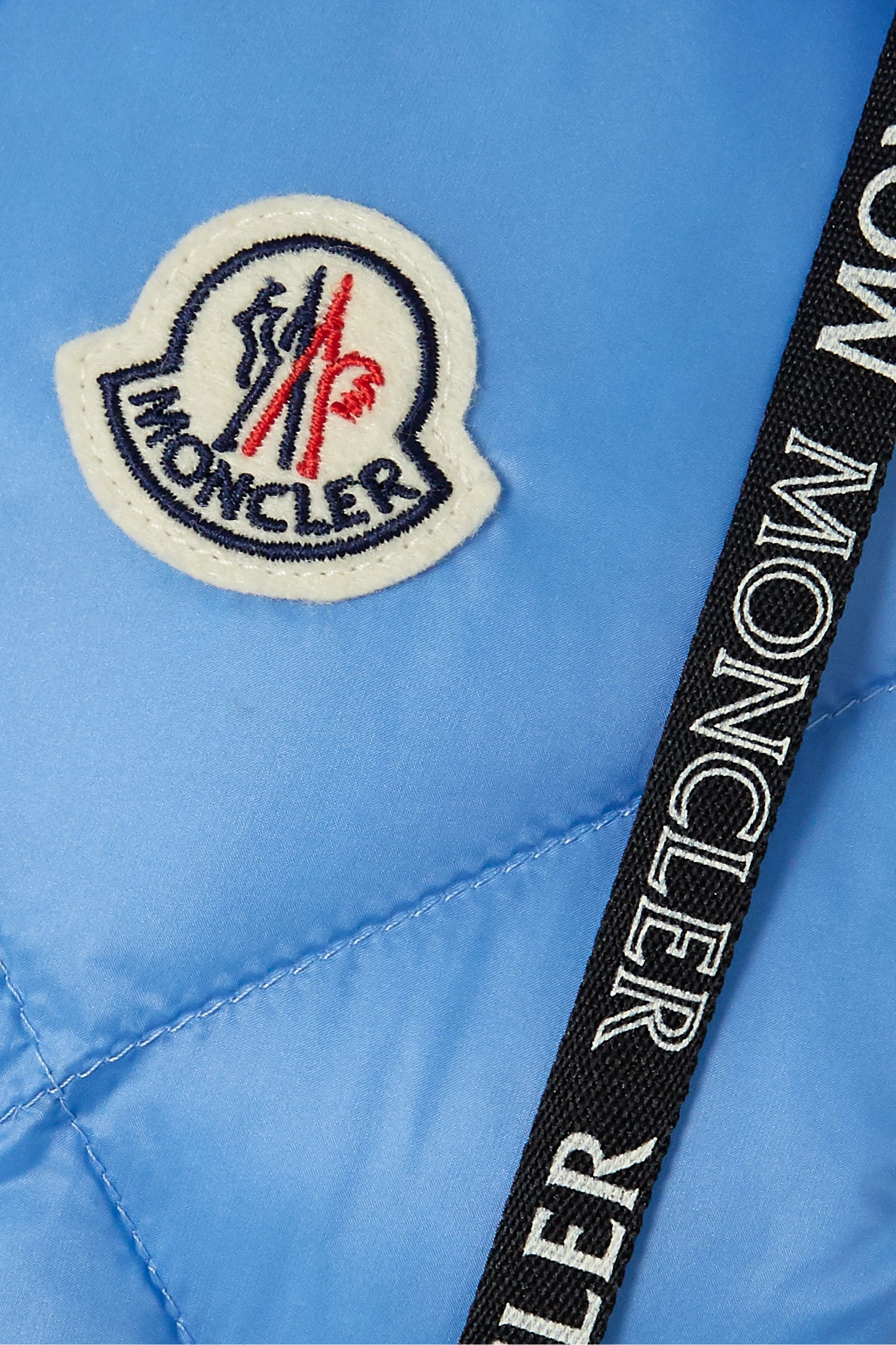 Moncler Sucrex hooded quilted shell down vest