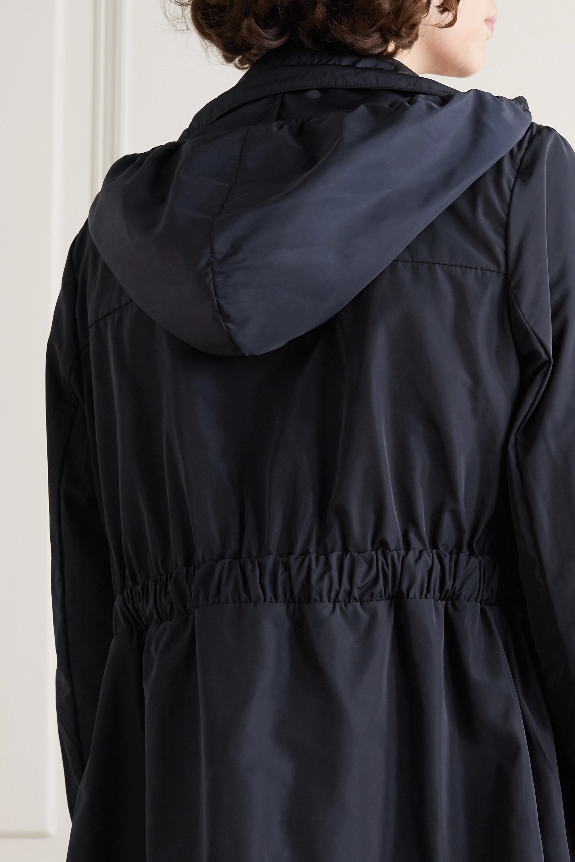 Moncler Malachite hooded shell parka
