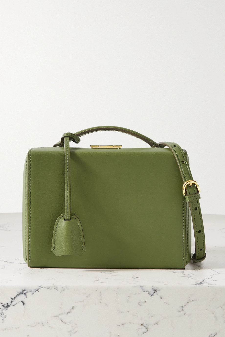 Mark Cross Grace small leather shoulder bag